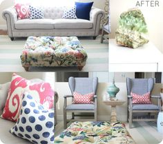 Renting Realities & Solutions when it comes to Decorating - Dressing up a rental with color!