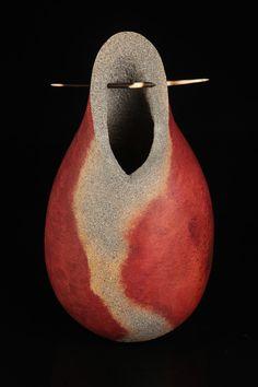 Original gourd vessel.