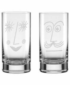 Kate Spade set of 3 highball glasses - $50 Adorable!!