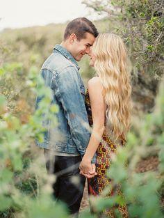newly engaged, photo by Danielle Poff http://ruffledblog.com/san-luis-obispo-shoot-turned-proposal #engagementsession #engagement