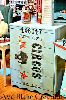 Circus Painted Dresser - Reader Featured Project