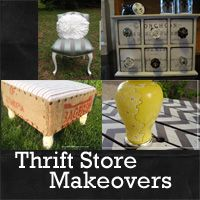 amazing thrift store makeovers: Rustic Crafts & Chic Decor