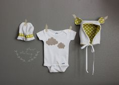 adorable gender-neutral baby gift by skirt as top!!