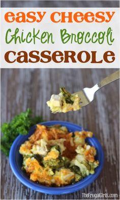 Easy+Cheesy+Chicken+Broccoli+Casserole+Recipe!