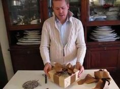 All Wrapped Up by Eddie Ross. Learn how to tie the perfect bow that unfolds like a dream.