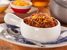 Hillbilly Chili - Get ready for fall with this easy, down-home recipe for chili. Using classic ingredients (and a couple surprises!), it's cozy comfort in a bowl.