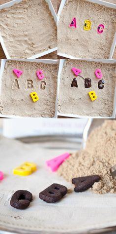 DIY Brown Sugar Chocolate Molds
