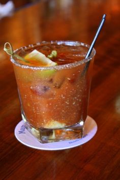 Dirt and Martinis Jalapeno Bloody Mary: Sounds awfully yummy. Must try.