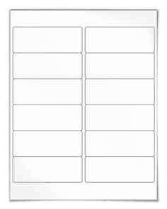 "Free blank label template download: WL-250 template in Word .doc, PDF and other formats. Same size as Avery® 5197 template. View here: http://www.worldlabel.com/Pages/wl-ol250.htm | Size: 4"" x 1.5"" 