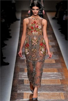 Needlepoint - from Fall Winter 2012-13 collections. Click on the photo to see Vogue Italia's choices.