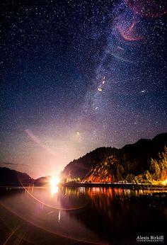 Milky Way Express - Porto Cove, British Columbia, Canada