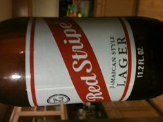 Red Stripe Always reliable! #beer #brew
