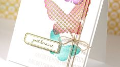 Friday Focus - 1 Card, 1 Stamp Set #1
