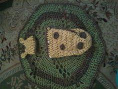 Giraffe cocoon - free crochet pattern