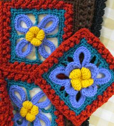 """Colors on Hand for Rosanna"" on the www at Skerin Knitting and Crochet dot com"