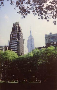 Bryant Park #manhattan #nyc #newyork #newyorkcity #skyline