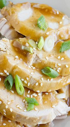 Slow Cooker Sesame Pork