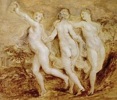 Madrid's Top 10 : Museo Del Prado - Flemish and Dutch Paintings -The Three Graces    This erotic masterpiece (1636–8) by Peter Paul Rubens (1577–1640) was inspired by classical sculpture and features Love, Desire and Virginity, two of them modelled on wives of the artist.