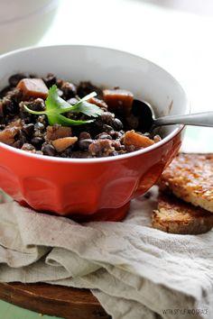 Black Bean, Sweet Potato and Quinoa Chili
