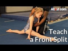 How to Teach a Front Split - YouTube