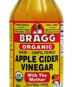 Bragg Apple Cider Vinegar:    Organic, Raw, Unfiltered, with the 'Mother' (Naturally Gluten Free)    INTERNAL BENEFITS:  >Rich in enzymes & potassium  >Support a healthy immune system  >Helps control weight  >Promotes digestion & ph Balance  >Helps soothe dry throats  >Helps remove body sludge toxins    EXTERNAL BENEFITS:  >Helps maintain healthy skin  >Helps promote youthful, healthy bodies  >Soothes irritated skin  >Relieves muscle pain from exercise    Price :$4.95