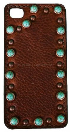 Brandy Pull-Up Leather iPhone Case - HPC45