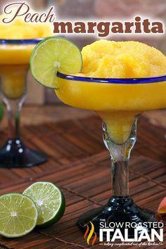 Perfectly Peach Margarita