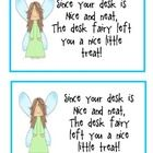 This desk fairy award will reward those students that keep a tidy desk. #TpT #freebie