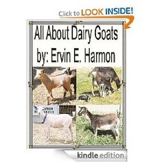 All About Dairy Goats: FREE Kindle ebook from Amazon!