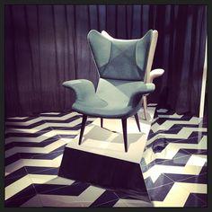 Diesel Longware long chair at Salone del Mobile 2013 #diesel #dieselhome #milandesignweek #mdw2013 #inspiration #interior #furniture photo by franciginka
