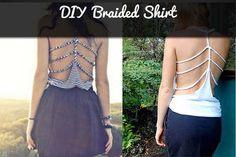 DIY: Braided Shirt