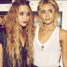 Mary Kate and Ashley Olsen love them