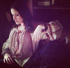 ANKH worn by artist Dana Louise Kirkpatrick