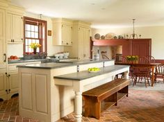 Designing a New Country Kitchen - Old-House Online - Old-House Online