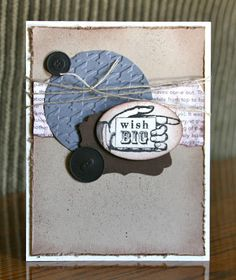 Stampin' Up! Birthday  by Krystal D at Krystal's Cards and More: Bring On The Cake #2