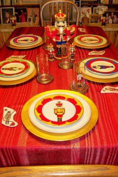 Nutcracker table