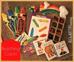 Teaching Colors - Week 1 Learning Themes - ALLterNATIVElearning