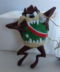 Taz-Looney-Tunes-Silent-Bite-Goebel-Christmas-Ornament-Warner-Brothers-471028