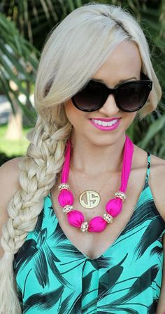 Pretty, easy braids