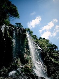 Waitakere waterfall.