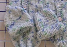 Preemie hat for charity knitting