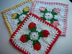 14 Free Crochet Dishcloth Patterns