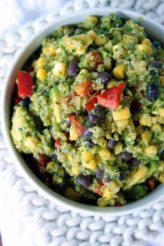 Black Bean Quinoa Cilantro Salad
