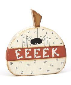 'Eeeek' Spider Pumpkin