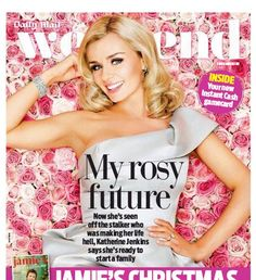 How stunning! A divine and romantic front cover with the beautiful Katherine Jenkins wearing the One Shoulder party dress..x
