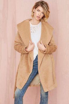 Chic Camel Color Coat