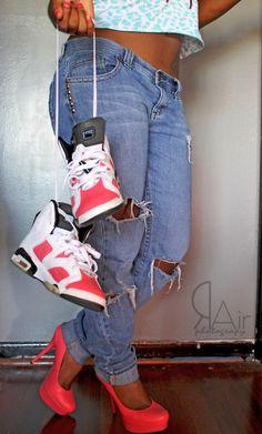 heels * kick...my type of styles!