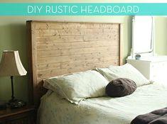 Make a Rustic Headboard