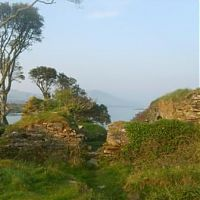ruins of Dunboy Castle ,Beara.  photo Steve Harrington - Novelist and writing services: - Chasing tales out of the twilight
