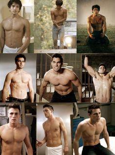 The men of Teen Wolf. Hot damn.
